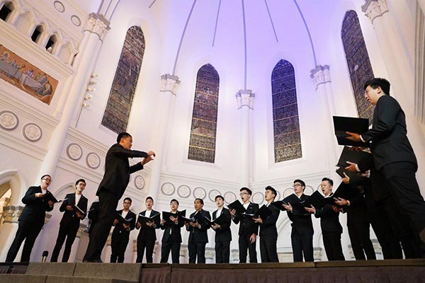The VOCE Singapore Men's Choir