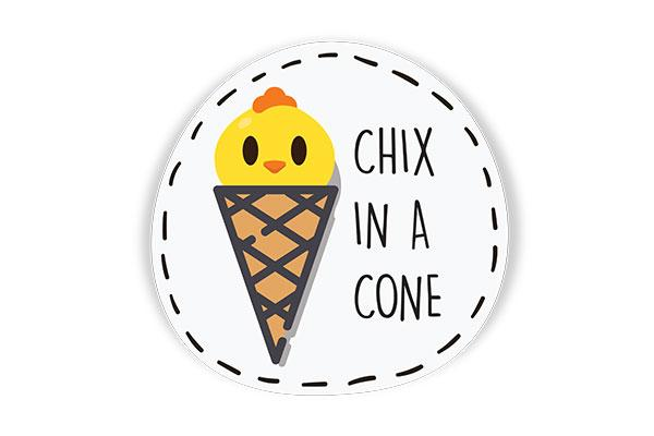 Chix in a Cone by Sofnade